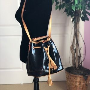 Dooney & Dourke black bucket bag